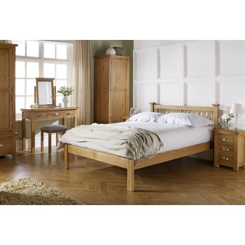 Woburn Oak Bed