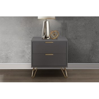 Arlo 2 Drawer Bedside