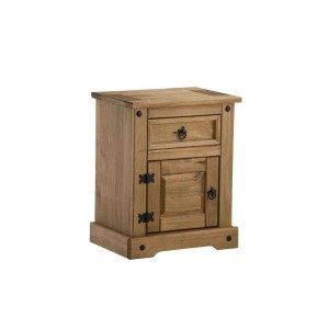 Corona 1 Door + 1 Drawer Bedside