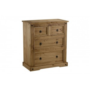 Corona 2 + 2 Drawer Chest *Out of Stock - Back Soon*