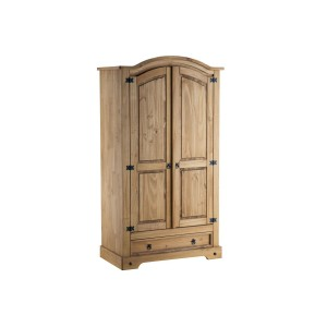 Corona 2 Door + 1 Drawer Wardrobe