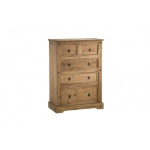Corona 3 + 2 Drawer Chest