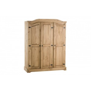 Corona 3 Door Wardrobe*Out of Stock - Back Soon*