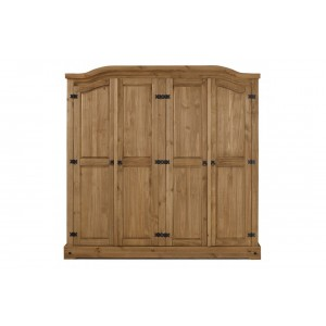 Corona 4 Door Wardrobe *Out of Stock - Back Soon*