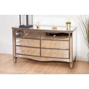 Elysee 6 Drawer Wide Chest (Assembled)