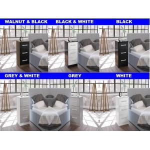 Lynx Bedside Cabinet (5 Colours)
