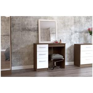 Lynx Walnut & White Dresser
