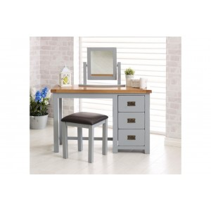 New Hampshire Grey & Oak Dresser {Assembled} *Out of Stock*