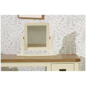 New Hampshire Cream & Oak Mirror *Out of Stock*