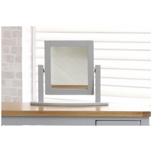 New Hampshire Grey & Oak Mirror *Out of Stock*