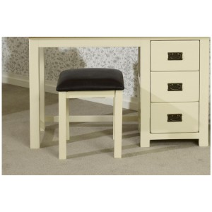 New Hampshire Cream & Oak Stool *Out of Stock*