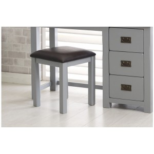 New Hampshire Grey & Oak Stool *Out of Stock*