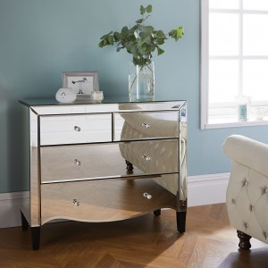 Palermo 2+2 Drawer Chest (Assembled)