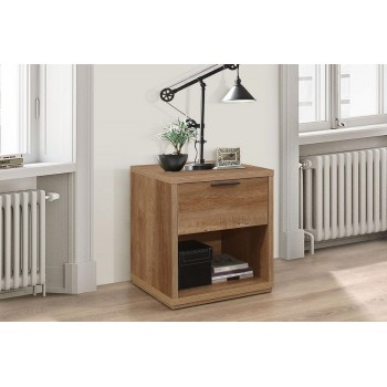 Stockwell 1 Drawer Bedside Cabinet