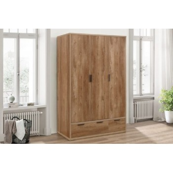 Stockwell 3 Door Wardrobe