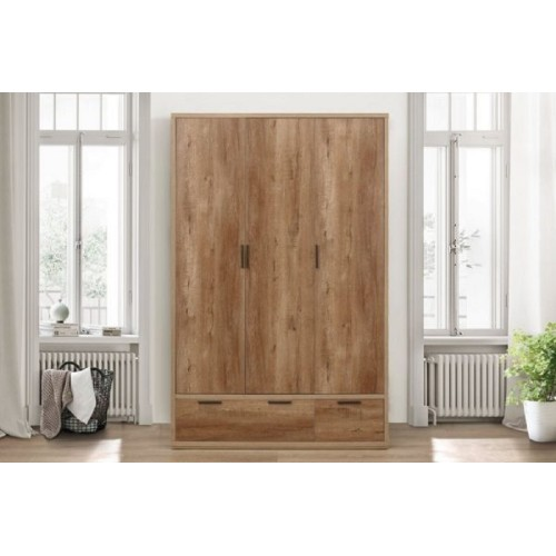Stockwell 3 Door Wardrobe