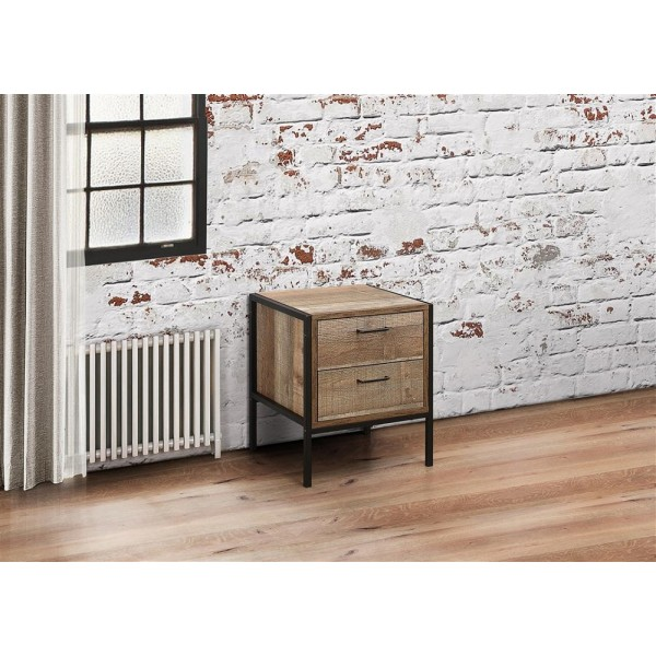 Urban 2 Drawer Bedside Cabinet