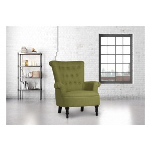 Edinburgh Olive Armchair *Out of Stock - Back Soon*