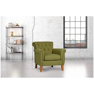 Highgate Olive Armchair