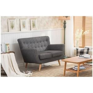 Loft Grey 2 Seater Sofa