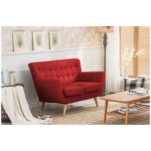 Loft Red 2 Seater Sofa *Out of Stock - Back Soon*