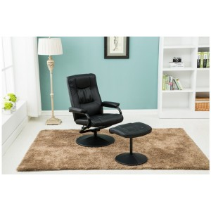 Memphis Swivel & Recliner Chair with Footstool