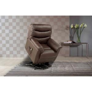 Regency Brown Rise & Recline Chair