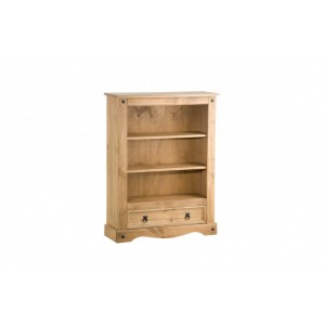 Corona Bookcase with 1 Drawer
