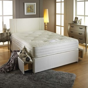 Bamboo Latex 1000 Divan Bed