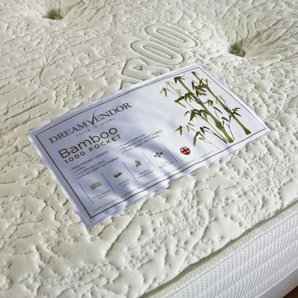 Bamboo Latex 1000 Mattress