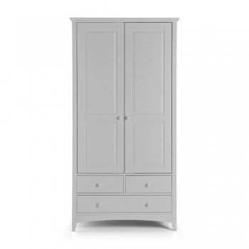Cameo Grey 2 Door Combination Wardrobe