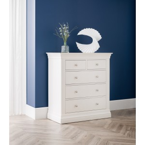 Clermont 3+2 Drawer Chest {Assembled}