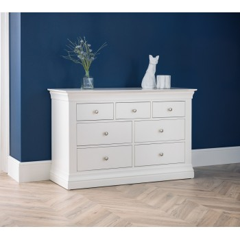 Clermont 4+3 Drawer Chest {Assembled}