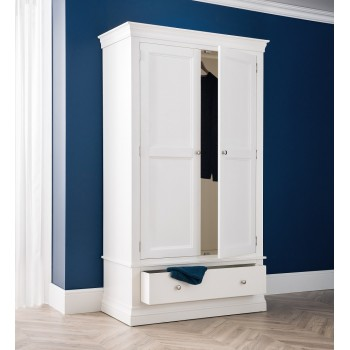Clermont 2 Door + 1 Drawer Wardrobe