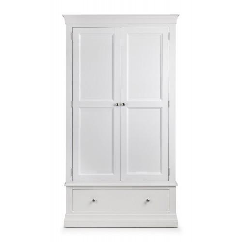 Clermont 2 Door + 1 Drawer Wardrobe