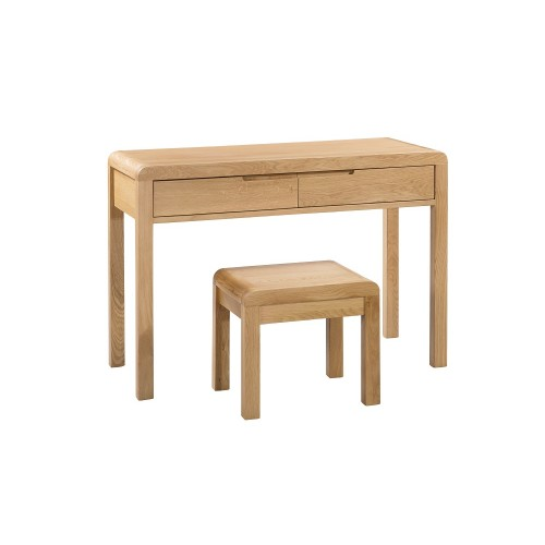 Curve Dressing Table + Stool {Assembled}