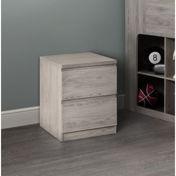 Jupiter Grey-Oak Bedside