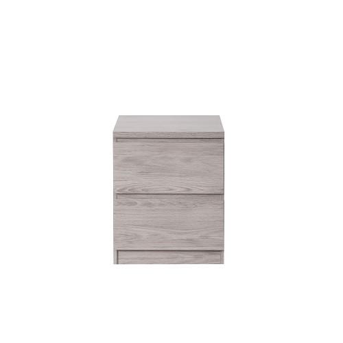 Jupiter Grey-Oak Bedside
