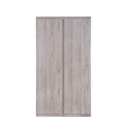 Jupiter Grey-Oak Wardrobe