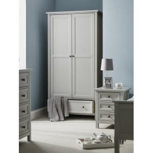 Maine Dove Grey 2 Door Wardrobe
