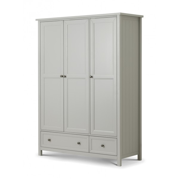 Maine 3 Door Wardrobe *Out of Stock - Back Soon*