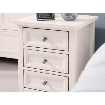 Maine Surf White Bedside