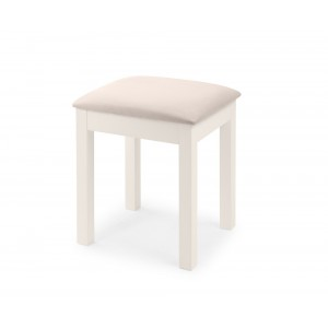 Maine Surf White Dressing Table Stool