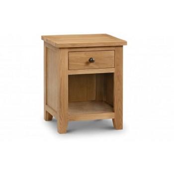 Marlborough 1 Drawer Bedside [Assembled] *Out of Stock - Back Soon*