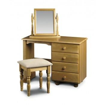Pickwick Single Pedestal Dressing Table