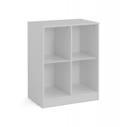 Pluto Dove-Grey Cube Bookcase