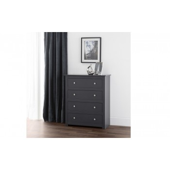 Radley Dark-Grey 4 Drawer Chest
