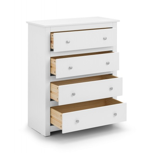Radley Surf-White 4 Drawer Chest