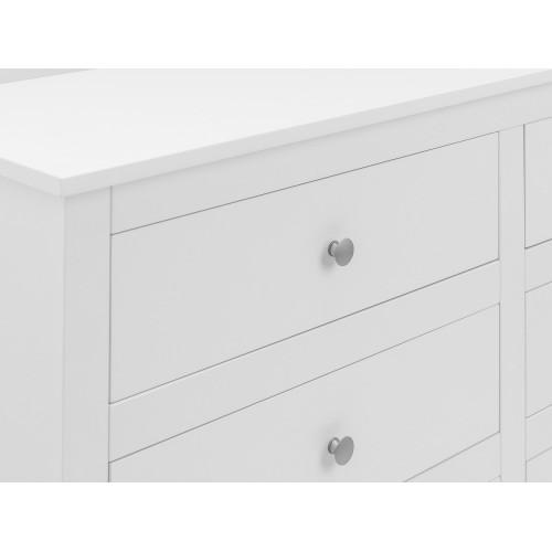Radley Surf-White 6 Drawer Chest