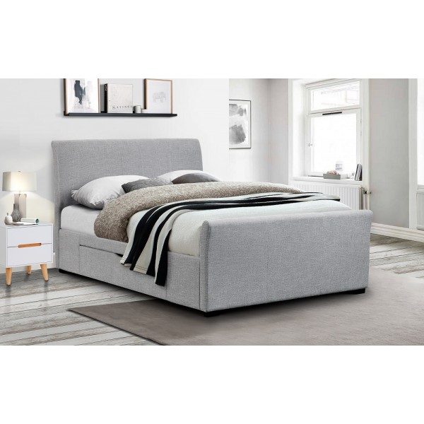 Capri Bed with Two Drawers
